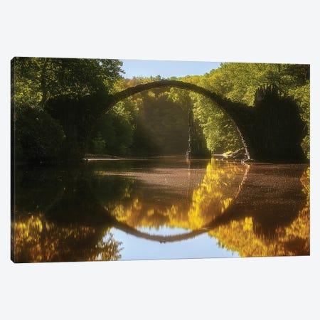 Devil Bridge - Germany Canvas Print #RFL118} by Rafal Kaniszewski Canvas Art Print