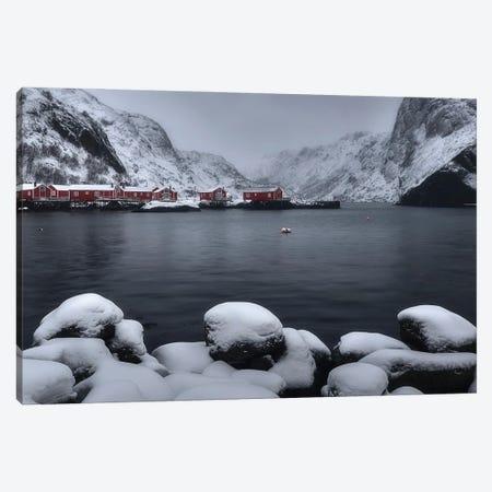 Winter Time In Lofoten - Norway Canvas Print #RFL128} by Rafal Kaniszewski Canvas Art