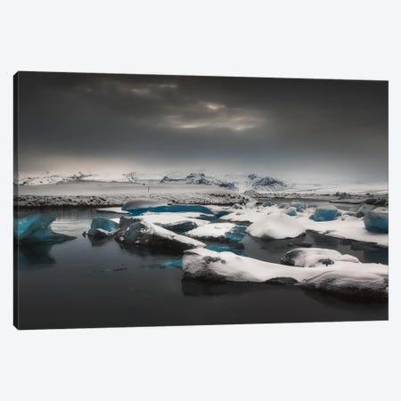 Ice Mountains - Iceland Canvas Print #RFL141} by Rafal Kaniszewski Canvas Artwork