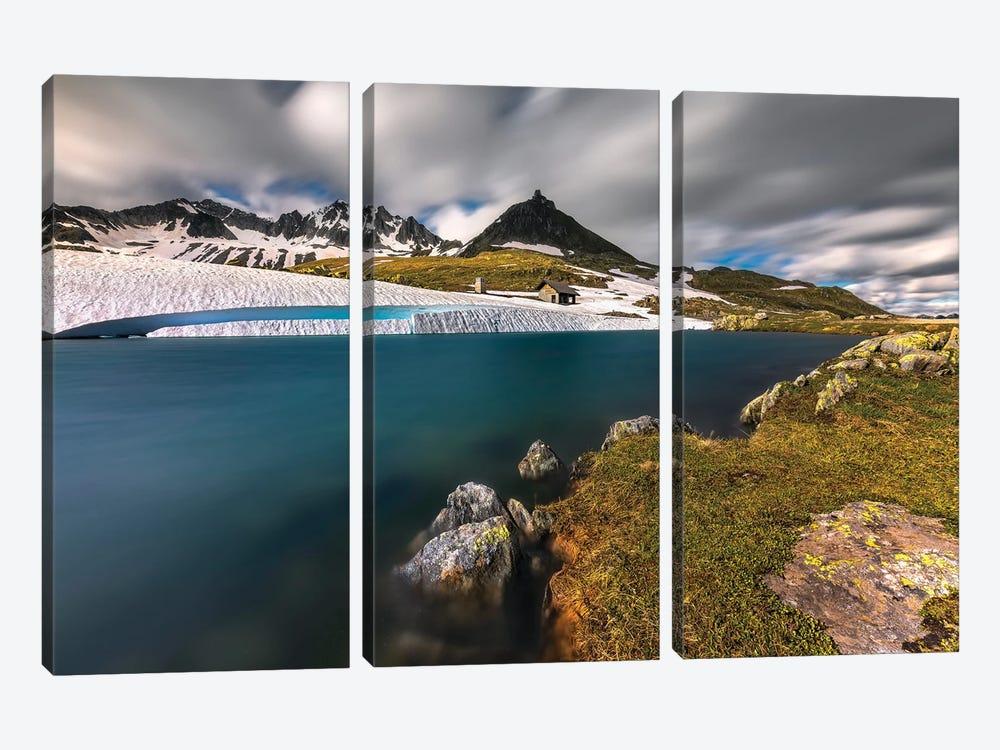 Passo Della Novena - Switzerland by Rafal Kaniszewski 3-piece Art Print