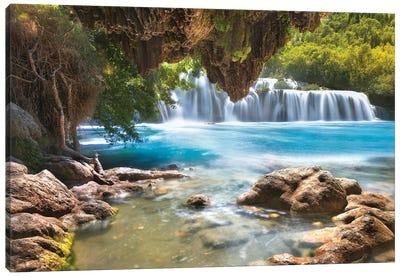 Krka Waterfall - Croatia Canvas Art Print