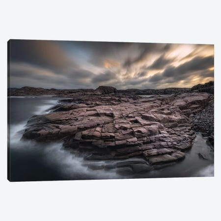 Rock Formations Tjurpannans Nature Park - Sweden Canvas Print #RFL177} by Rafal Kaniszewski Canvas Artwork