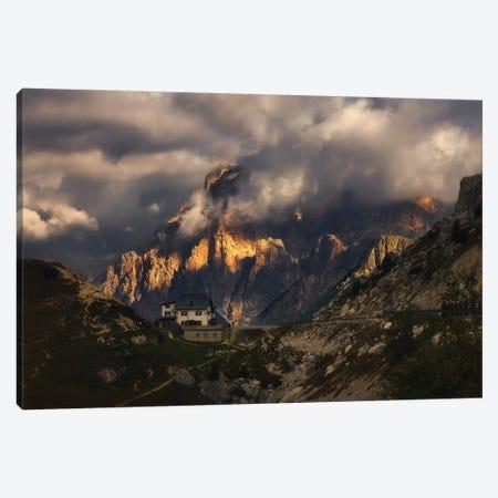 Passo Falzarego Dolomites - Italy Canvas Print #RFL182} by Rafal Kaniszewski Canvas Wall Art