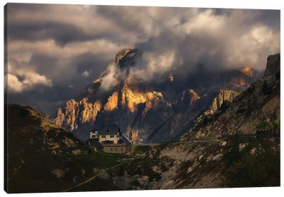 Passo Falzarego Dolomites - Italy Canvas Art Print