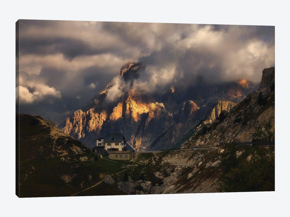 Passo Falzarego Dolomites - Italy by Rafal Kaniszewski 1-piece Canvas Art Print
