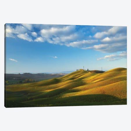 Morning In Tuscany - Italy Canvas Print #RFL194} by Rafal Kaniszewski Canvas Art