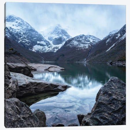 Bondhusvatnet Lake In Norway Canvas Print #RFL197} by Rafal Kaniszewski Canvas Art