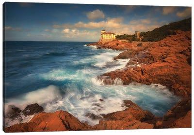 Castello Del Boccale - Livorno -Italy Canvas Art Print
