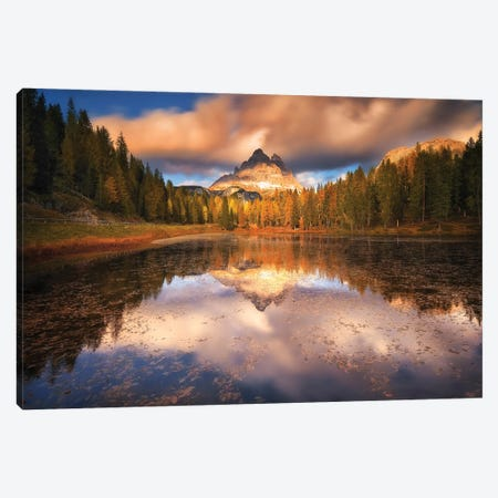 Lago Antorno Dolomites - Italy Canvas Print #RFL209} by Rafal Kaniszewski Canvas Print
