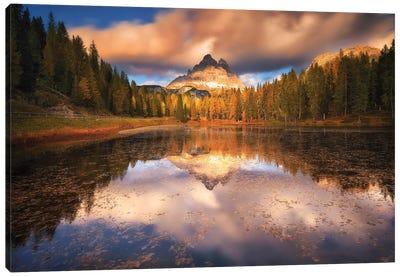Lago Antorno Dolomites - Italy Canvas Art Print