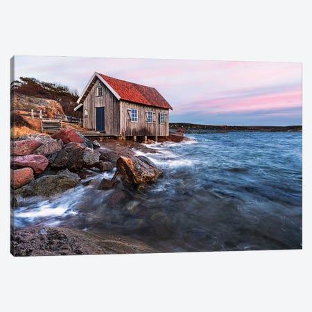 Fishermans Cottage - Sweden Canvas Print #RFL219} by Rafal Kaniszewski Canvas Art