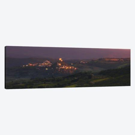 Last Sun Tuscany - Italy Canvas Print #RFL229} by Rafal Kaniszewski Art Print