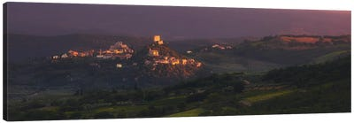 Last Sun Tuscany - Italy Canvas Art Print