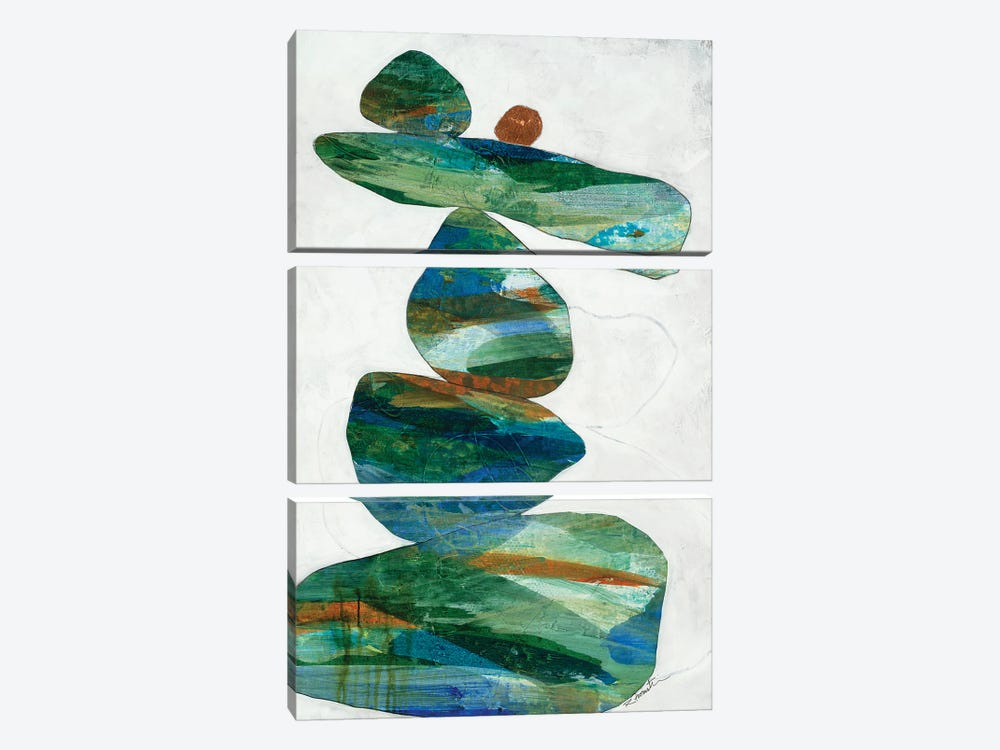 How They Stack Up II by Ruth Fromstein 3-piece Art Print