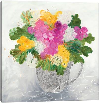 Rose Tea Canvas Art Print