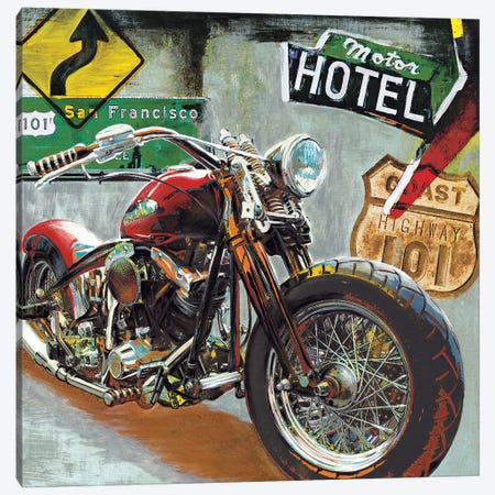 Highway 101 3-Piece Canvas #RFO1} by Ray Foster Canvas Art