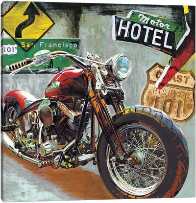 Highway 101 Canvas Art Print