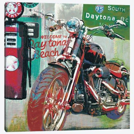 Daytona Beach Canvas Print #RFO2} by Ray Foster Canvas Artwork
