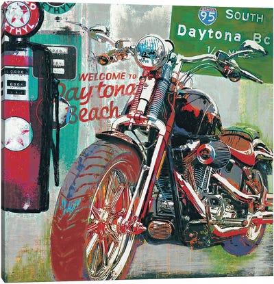Daytona Beach Canvas Art Print