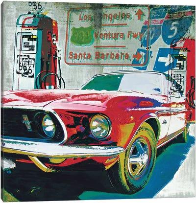 Ventura Freeway Canvas Art Print