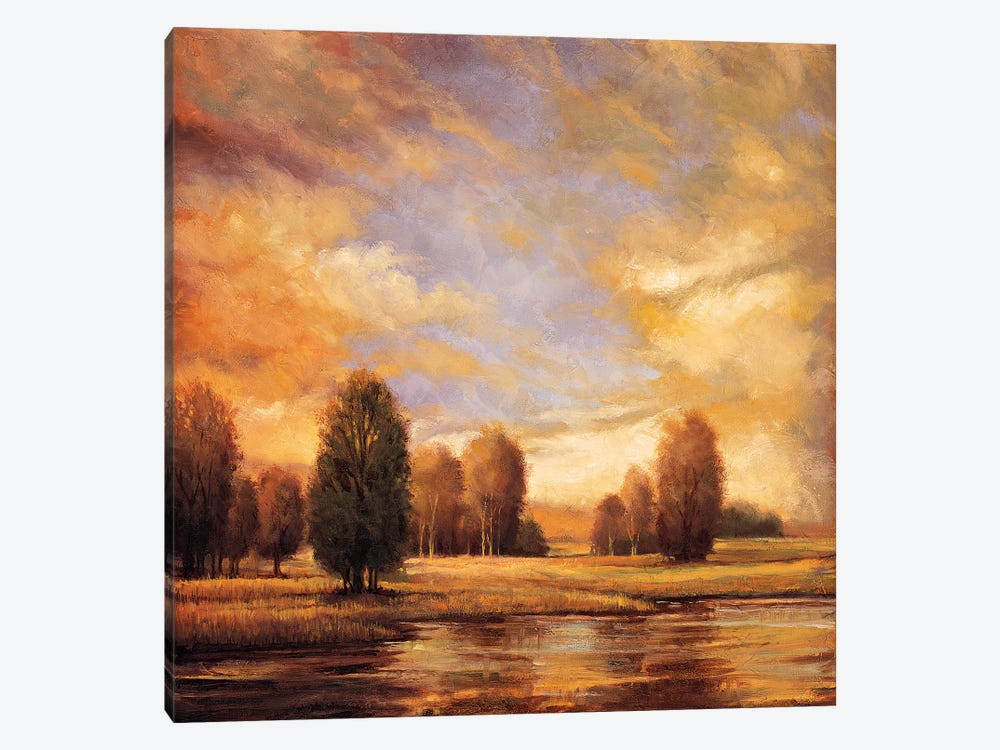 Away From It All II by Ryan Franklin 1-piece Canvas Print