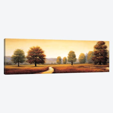 Landscape Panorama I Canvas Print #RFR4} by Ryan Franklin Art Print