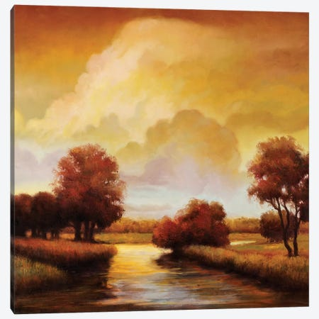 Majestic Morning I Canvas Print #RFR7} by Ryan Franklin Canvas Art Print