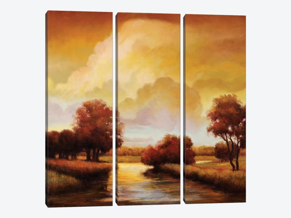 Majestic Morning I by Ryan Franklin 3-piece Canvas Wall Art
