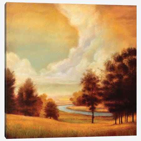 Majestic Morning II Canvas Print #RFR8} by Ryan Franklin Canvas Wall Art