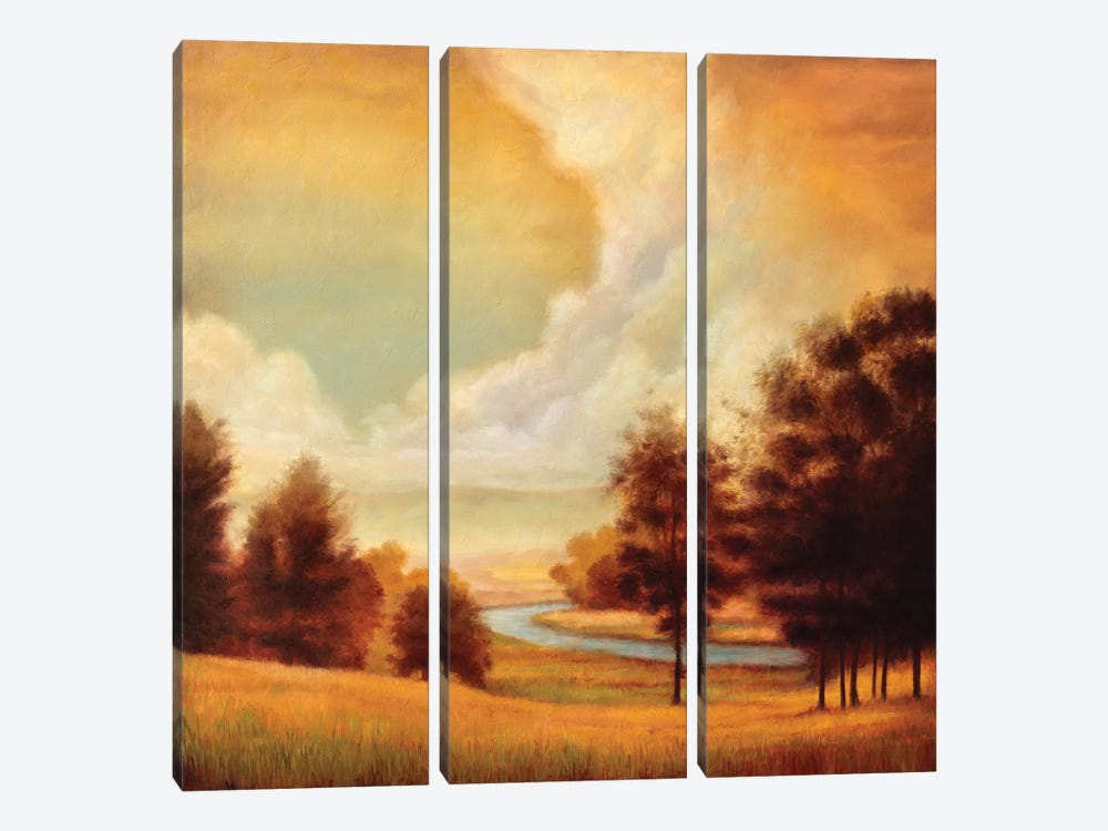 Majestic Morning II by Ryan Franklin 3-piece Canvas Art Print
