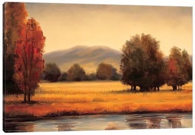 River's Edge Canvas Art Print