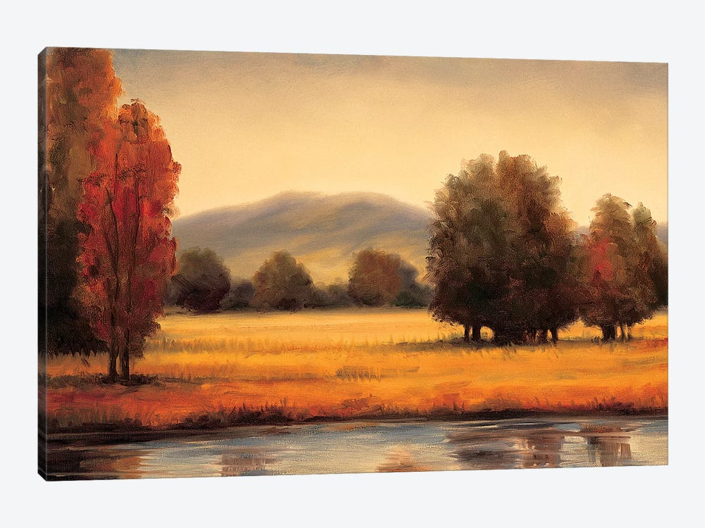 River's Edge by Ryan Franklin 1-piece Canvas Wall Art