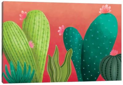 Cacti Garden Canvas Art Print