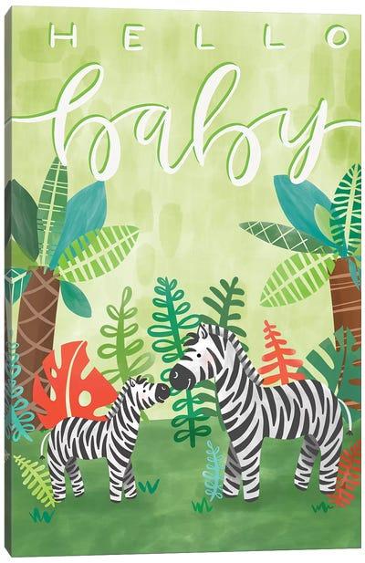 Jovial Jungle II Canvas Art Print