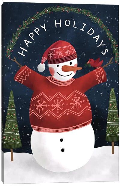 Holiday Magic Canvas Art Print
