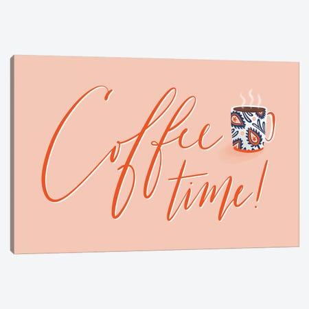 Mohawk Coffee Time Canvas Print #RGA37} by Richelle Garn Art Print