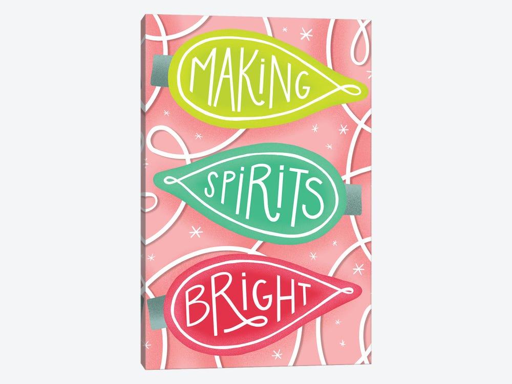 Merry+Bright IV by Richelle Garn 1-piece Canvas Art