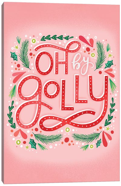 Merry+Bright V  Canvas Art Print