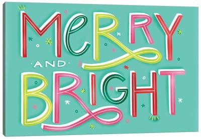 Merry+Bright IX Canvas Art Print