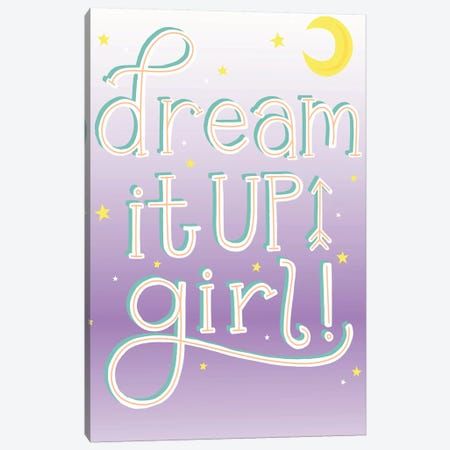 Tween Dreamin IV Canvas Print #RGA4} by Richelle Garn Canvas Art