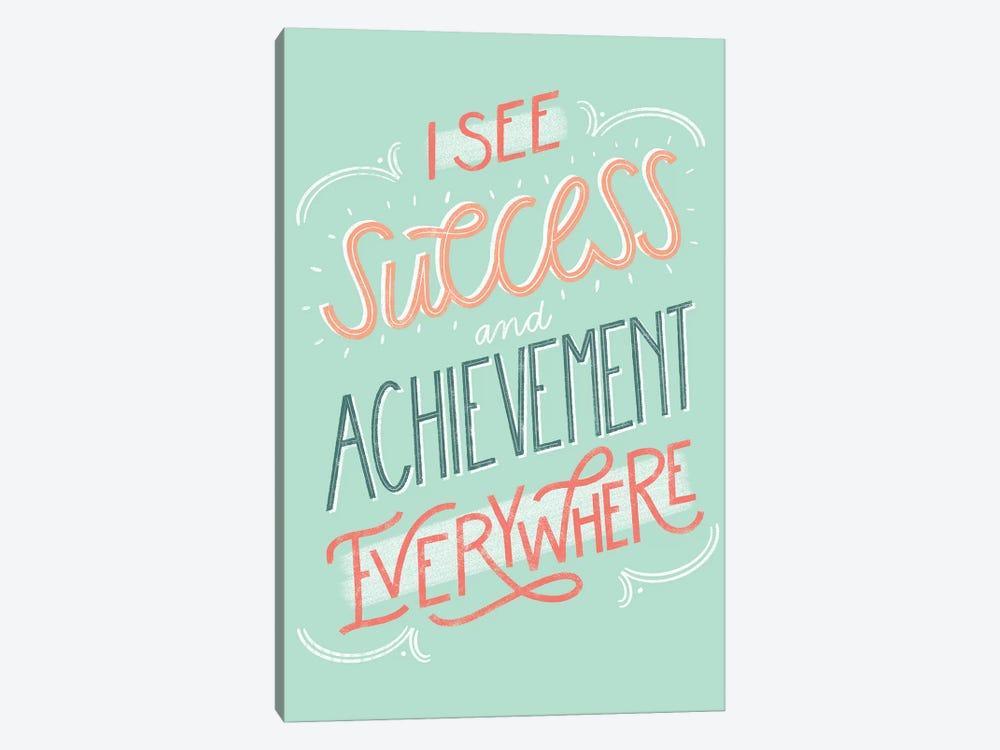 Success+Achievement by Richelle Garn 1-piece Canvas Artwork