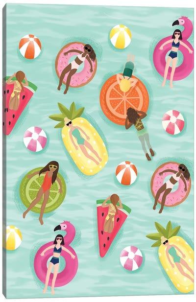 Slice Of Summer I Canvas Art Print