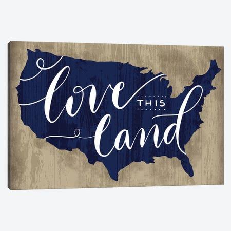 America The Beautiful II Canvas Print #RGA7} by Richelle Garn Canvas Wall Art