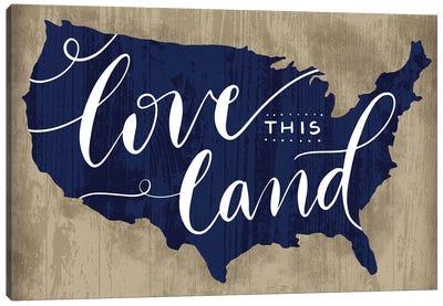 America The Beautiful II Canvas Art Print