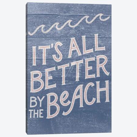 Beach Front Retreat II Canvas Print #RGA88} by Richelle Garn Canvas Print