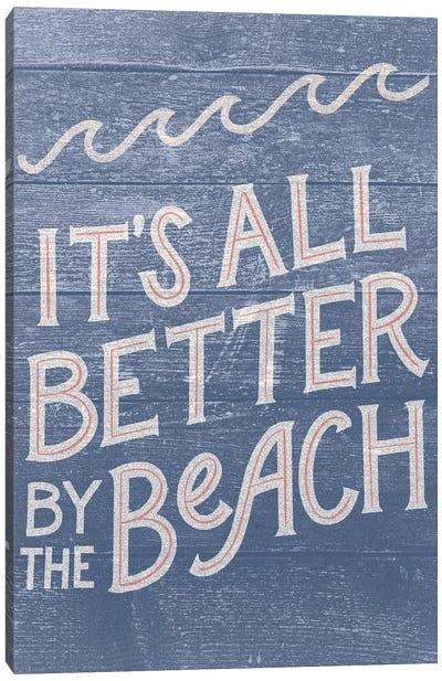 Beach Front Retreat II Canvas Art Print