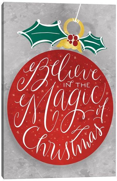 Brilliant Shiny Christmas I Canvas Art Print