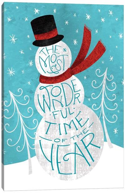 Brilliant Shiny Christmas III Canvas Art Print
