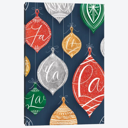 Brilliant Shiny Christmas IV Canvas Print #RGA93} by Richelle Garn Canvas Art