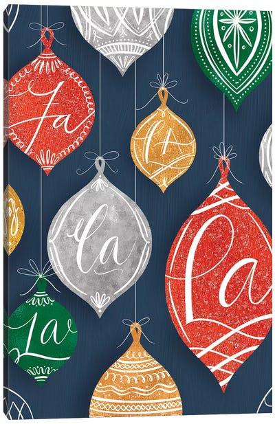 Brilliant Shiny Christmas IV Canvas Art Print
